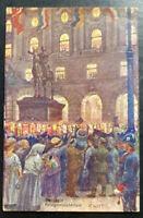 1918 Austria Picture Postcard Cover To Czechoslovakia War Museum WWI