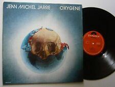 JEAN MICHEL JARRE: Oxygene (Polydor) 1977 LP