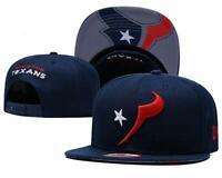 Houstan Texans NFL Football Embroidered Hat Snapback Adjustable Cap