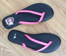 9bf89e537dd8 Sanuk Yoga Bliss Pink Flip Flop New Size 6 Uk
