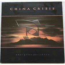 CHINA CRISIS - What price Paradise - LP VINYL 1986 NEAR MINT COVER VG+ CONDITION