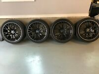 Wedsport SA20R 19x8.5 114.3 +38 / 19x9.5 114.3 +38 Metallic Black