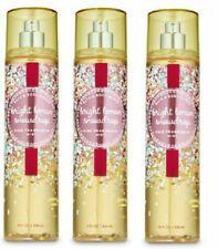 Bath And Body Works Bright Lemon Snowdrop Fragrance Body Mist 8 Fl Oz (Set Of 3)