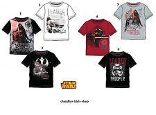Star Wars, T-Shirt, Gr.116, 128, 134, 140, 152, schwarz, wei�Ÿ, grau, bordeaux