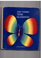 Jerzy Ficowski Tęcza na niedzielę il Z Witwicki 1971  Polish book for children