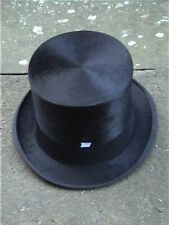 .Continental . Black Silk Top Hat Sz 7 1/8..