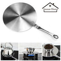 Branded Stainless Steel Induction Cooktop Heat Disk Converter Cooker Disc Pan