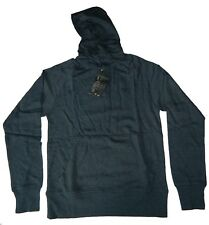 Oakley Men's O Button Pullover Hoodie Sweater Navy Gray Rhone Size Medium Large