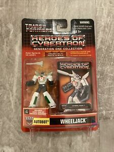 Wheeljack Heroes of Cybertron Hasbro Transformers PVC Action Figure