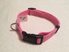 Nylon Dog Collar. Pink. Small. Puppy. Girl. Female. Free Shipping. USA Stock.
