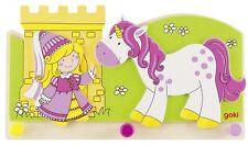Garderobe Kleine Prinzessin mit Einhorn, Kindergarderobe für Mädchen