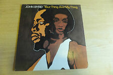 JOHN BYRD YOUR THING AND MY THING RECORD LP