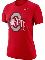 Ohio State Buckeyes Women's Nike Logo Crew Red Tee - NWT - FREE SHIPPING!