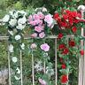 8Ft Artificial Silk Rose Flower Ivy Vine Hanging Garland Wedding Floral Decor