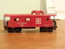 Vintage Model Toy Railroad Train Car A.T. & S.F. Santa Fe Caboose