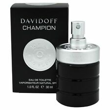 DAVIDOFF CHAMPION EAU DE TOILETTE 30ML SPRAY - MEN'S PER LUI. NUOVO