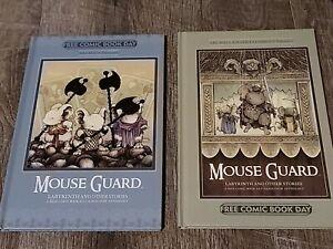 FCBD 2012 & 2014 Archaia HC- Mouse Guard, Labyrinth