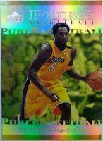 2000-01 Upper Deck Pure Basketball Kobe Bryant #PB4, Insert, Lakers