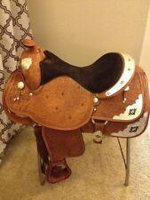 Silver Royal Western Show Saddle