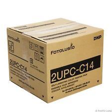 Sony Fotolusio papel 10x15 cm 2upc-c14 para terminal Snaplab