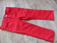 ESPRIT schöne slim fit Jeans rot Gr. 98 NEU 817