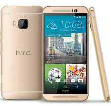Amber Oro 5'' Unlocked HTC One M9 32GB RAM 3GB 20MP Android OS 4G LTE Cellphone
