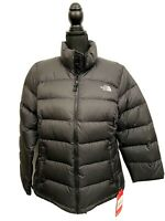 The North Face Women Nuptse II Jacket Down Puffer Large Black NWT $220 TNF Coat
