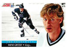 Hockey Card WAYNE GRETZKY 1991 Score #312 NHL Los Angeles Kings The Franchise