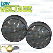 LED FRONT INDICATOR PARK CLEAR AMBER LIGHT LAMP ARB TJM BULLBAR 12V LV0373
