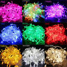 10/100/200 LED Fairy Light String Lamp Home Garden Wedding Party Xmas Tree Decor