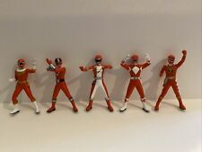 Power Rangers 15th Anniversary Epic (2007) Bandai Red Rangers Figure Sets #1