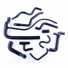 FOR VW CORRADO G60 SUPERCHARGED ONLY SILICONE RADIATOR WATER HOSE BLACK