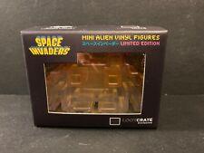 Space Invaders Mini Alien Vinyl Figure Orange Loot Crate Exclusive TAITO '15 New
