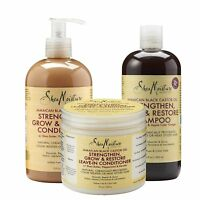 Shea Moisture Jamaican Black Castor Oil ,Shampoo + Conditioner And Leave in Cond