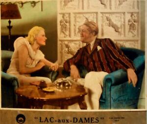 M.SIMON-LAC aux DAMES-Fce 1934-colorisée par WAROLINE/cartoline-COLETTE-ALLEGRET