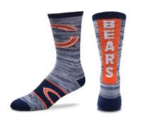 For Bare Feet Chicago Bears RMC Ticket Crew Socks