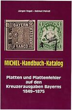 Handbuch-Katalog Plattenfehler Bayern - Kreuzerausgaben, neu