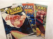 Venom: Madness #1,2,3 Complete Set  (000073) High Grade