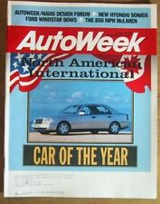 AUTOWEEK 1994 JAN 10 - CAR/TRUCK OF THE YEAR, ALFA 164
