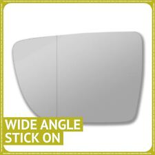 Left hand passenger side for Kia Venga 09-19 wing mirror glass Wide Angle
