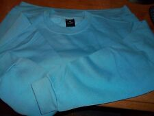 UNEEK unisex  long sleeve LIGHT BLUE work wear Sweatshirt UC203 Shirt 2XL X 5