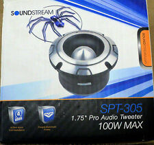 "NEW SOUNDSTREAM SPT-305 100W 1.75"" Pro Audio Series Car Tweeter (1 Tweeter)"