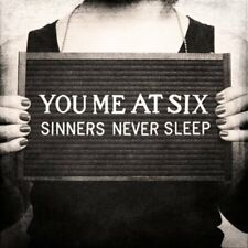YOU ME AT SIX SINNERS NEVER SLEEP CD ALT ROCK 2011 NEW