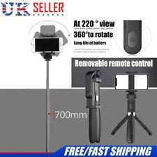 Selfie Tripod Phone Holder Stick Monopod W/bluetooth Wireless Remote Shutter UK