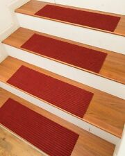 Non Slip Stairway Tread Set 13 Carpet Anti Skid Rubber Safety Rug Pad Step Stair