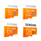Samsung EVO 32GB 64GB 128GB Micro SD SDHC SDXC 100MB/s UHS-I Class10 TF Card