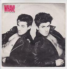"WHAM Vinyl George Michael 45T 7"" BAD BOYS -EPIC 3143 F Reduit RARE punki64"