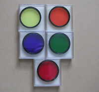 5 Celestron telescope color filters 2 inch (Filter Astronomy)