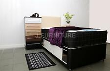 3ft Single Divan Bed+Luxury Memory Touch 25cm Mattress+Sliding doors+Headboard!!