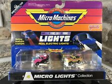 Micro Machines Micro Lights Collection #4 1989 NIB NOS MOC Rare Hilux T-Bird